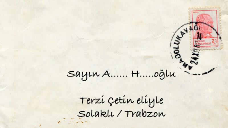 Terzi Çetin Eliyle, Solaklı/Trabzon