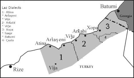 Türkiye'de Lazlar nerede yaşar